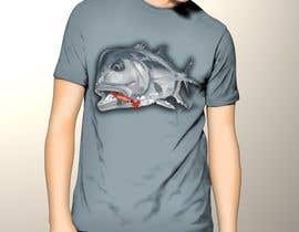 nº 10 pour T-shirt design for Trevally Fish par poonkaz