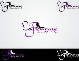 #118 para Logo Design for La FEmme Beauty Salon & Spa por kalashaili
