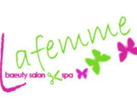 #86 para Logo Design for La FEmme Beauty Salon & Spa por aah2100