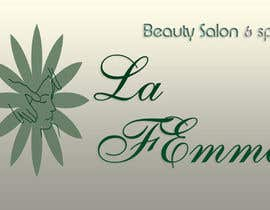 #112 para Logo Design for La FEmme Beauty Salon & Spa por srams2008