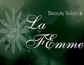 #103 para Logo Design for La FEmme Beauty Salon & Spa por srams2008