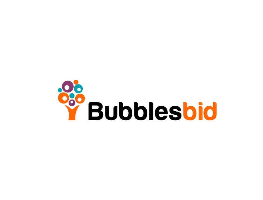 #199 for Design a Logo for www.bubblesbid.com web site by thimsbell