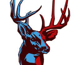 #20 for Whitetail Buck Emblem Design af illogo