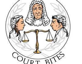 #49 untuk Design a Logo - Court Bites - Legal Education oleh alexmcvey