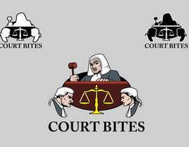 #21 untuk Design a Logo - Court Bites - Legal Education oleh ilustrocbvcar