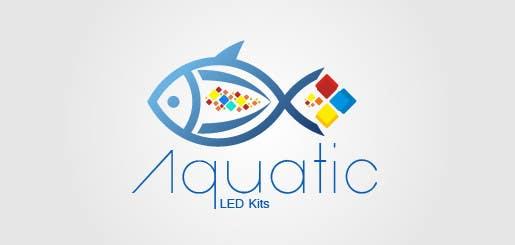 #26 for Design a Logo aquarium led ecommerce by projectsingha