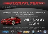 Contest Entry #7 for Design a Flyer for Local Car Dealership