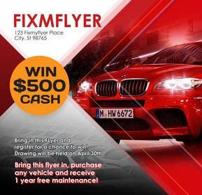 #13 for Design a Flyer for Local Car Dealership by Sahir75