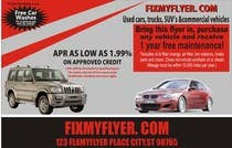 Contest Entry #27 for Design a Flyer for Local Car Dealership
