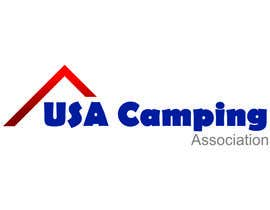 nº 4 pour Design a Logo for USA Camping par robertsdimants