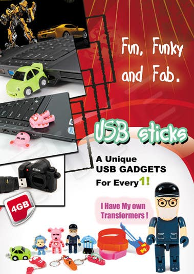 #20 for Simple and fun poster required for unique gadgets by five55555