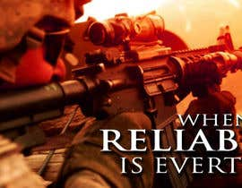 #39 untuk I Need a Main Image Designed for the Homepage of my Firearms Retail Website oleh clementalwin