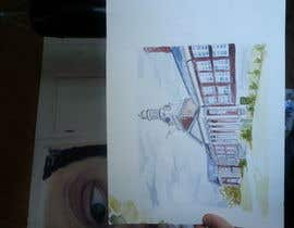 wahala tarafından Draw Colored Sketch The College of New Jersey Green Hall For Diploma Frame için no 15