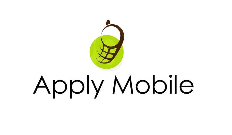 Kilpailutyö #27 kilpailussa Logo Design for Apply Mobile