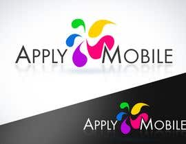 Nambari 173 ya Logo Design for Apply Mobile na twindesigner