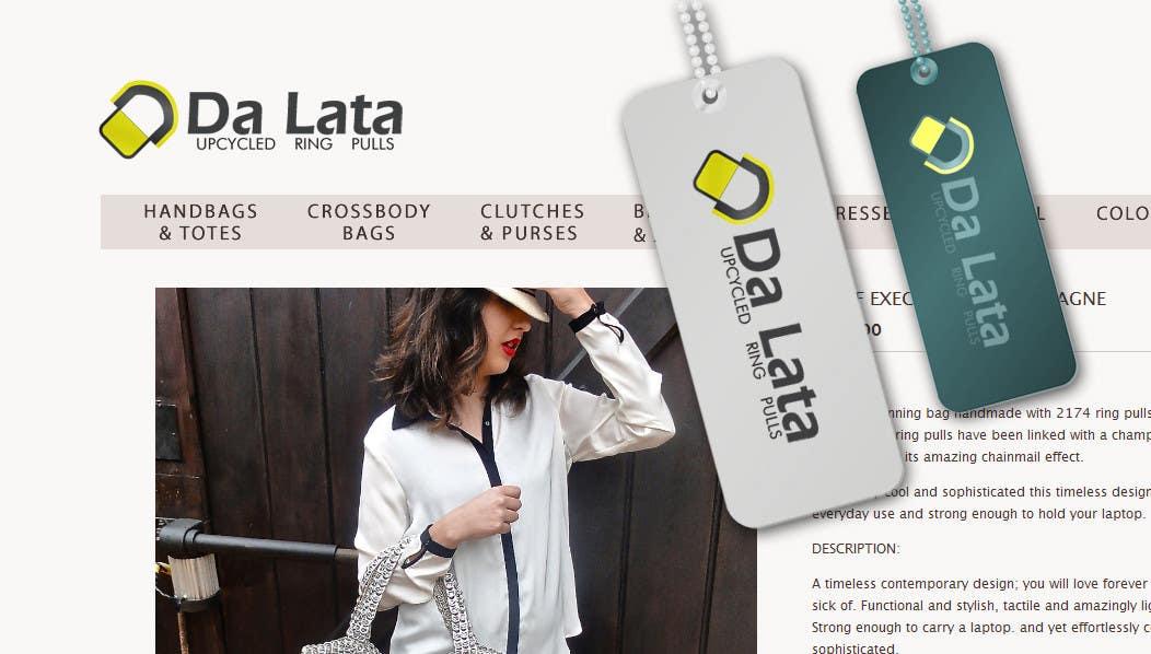"""Contest Entry #155 for Logo Design for """"Da Lata"""" www.da-lata.com"""