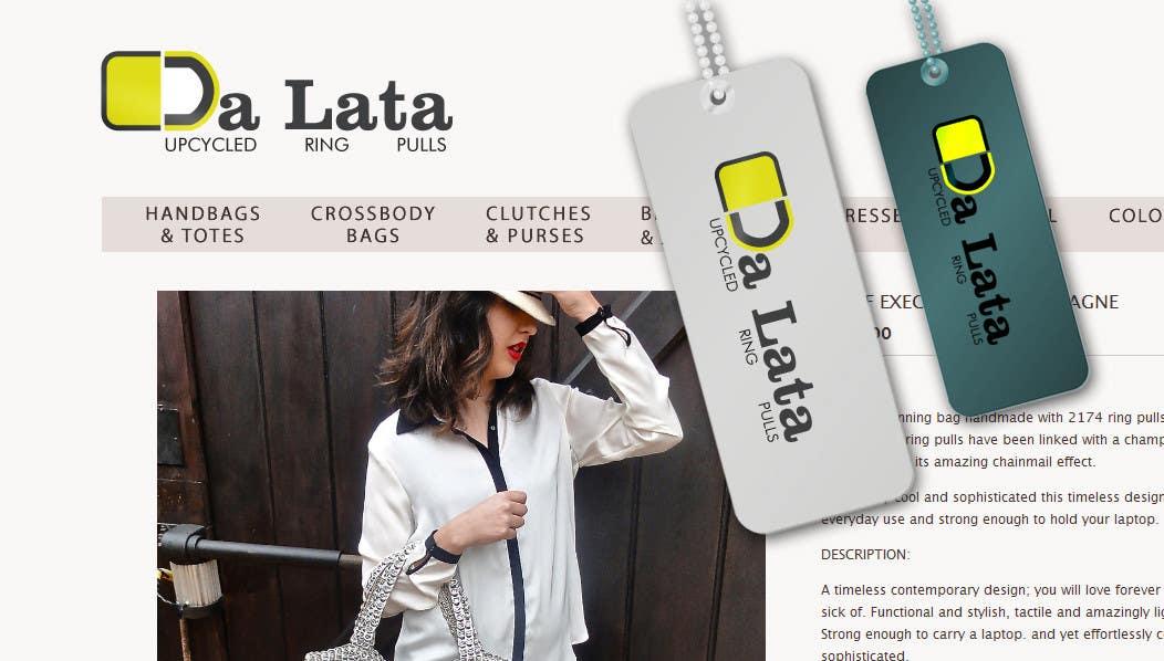 """Contest Entry #154 for Logo Design for """"Da Lata"""" www.da-lata.com"""