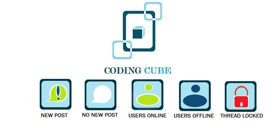 #14 for Design a Logo & Icons for a Coding Forum by Debamitragiri123