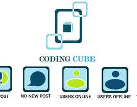 #15 cho Design a Logo & Icons for a Coding Forum bởi Debamitragiri123