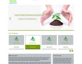 #6 untuk Design a Website Mockup for Hydroponic plant food oleh yourweb2guru