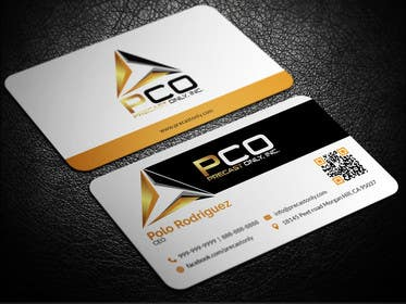 Image of                             Design some Business Cards Preca...
