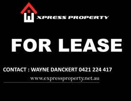 #3 para Design 3 Sign Boards for Express Property real estate por oomayghazala