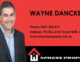 #38 for Design some Business Cards for Express Property real estate by kukadiyabipin