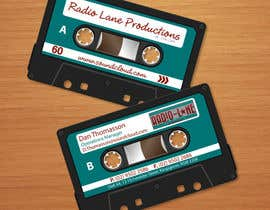 nº 7 pour Design Business Cards for Radio Lane Productions par midget
