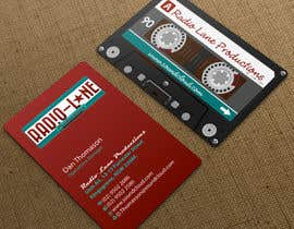 nº 16 pour Design Business Cards for Radio Lane Productions par midget
