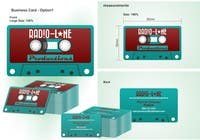Contest Entry #19 for Design Business Cards for Radio Lane Productions