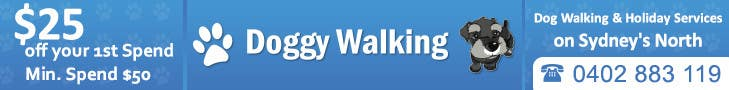 #19 for Design a Static Leaderboard Banner for Dog Walking Business by IllusionG