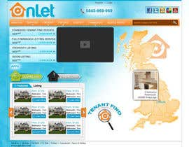 #108 para Website Design for Onlet por kosmografic