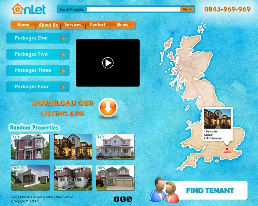 Inscrição nº                                         43                                      do Concurso para                                         Website Design for Onlet