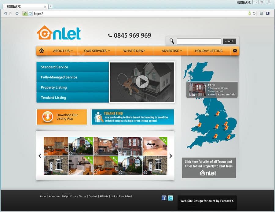 Inscrição nº                                         122                                      do Concurso para                                         Website Design for Onlet