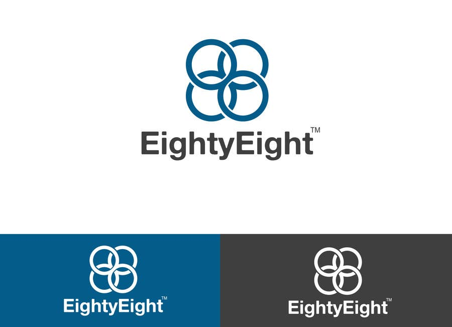 #43 for Design a Logo for EightyEight - Web design studio by alexandracol