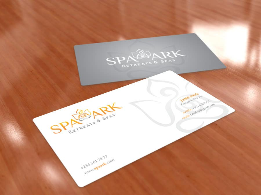 #51 for Design some Business Cards for Spa and Retreat Travel Agency by sashadesigns