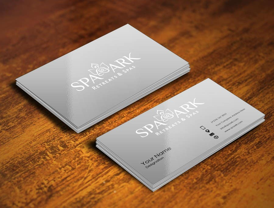 #15 for Design some Business Cards for Spa and Retreat Travel Agency by pointlesspixels