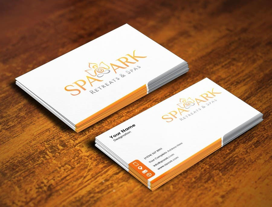 #17 for Design some Business Cards for Spa and Retreat Travel Agency by pointlesspixels