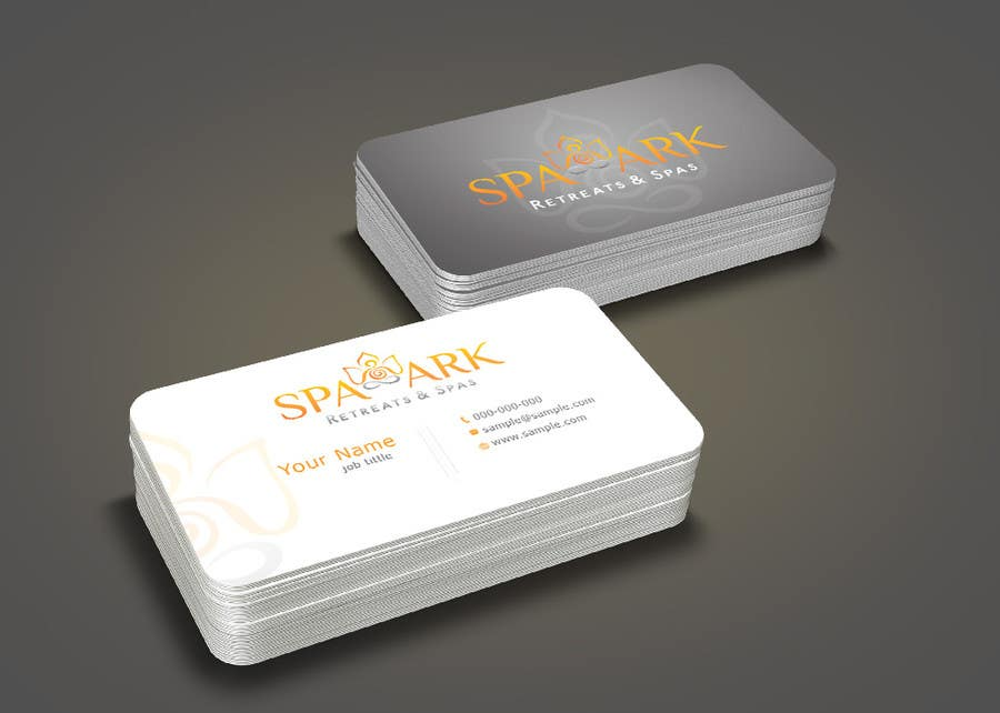 #53 for Design some Business Cards for Spa and Retreat Travel Agency by nihon5