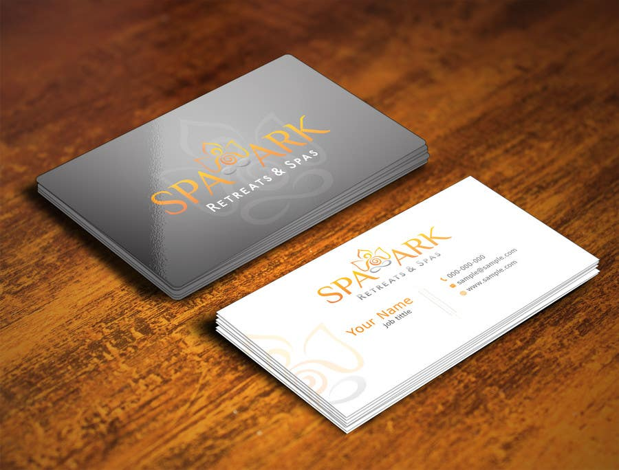 #55 for Design some Business Cards for Spa and Retreat Travel Agency by nihon5