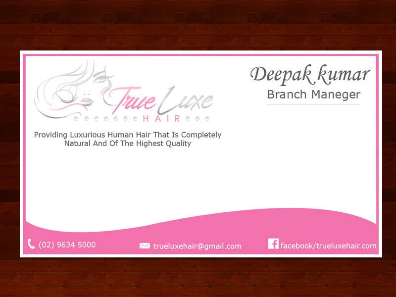 #23 for Quick Design For Business Card by dipakart