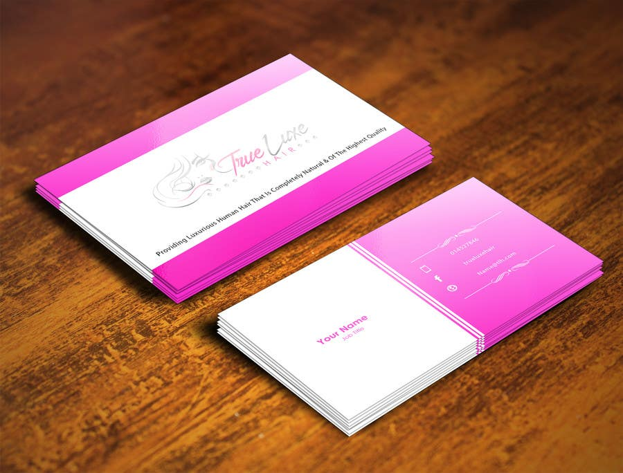 #29 for Quick Design For Business Card by pointlesspixels