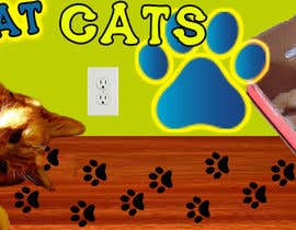 #17 para Design a Banner for a cat themed blog por Jlarkment