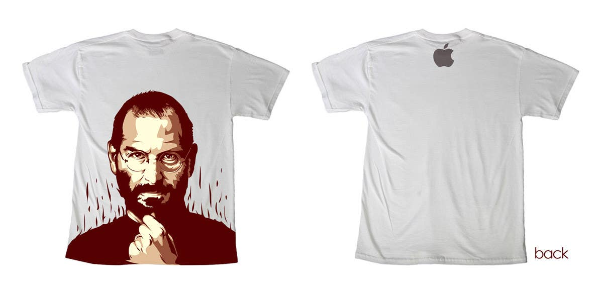 #186 for T-Steve, a tribute shirt for Steve Jobs by skewness888