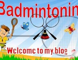 #3 para Design a Banner for a Badminton Blog por pdshermila