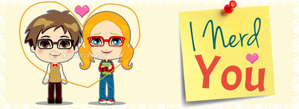 #39 for Design a Banner for a Nerd Dating Site by NikolaySlavchev
