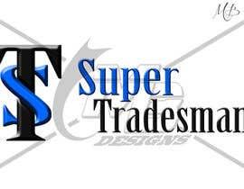 Nro 21 kilpailuun A logo for supertradesman.com käyttäjältä bernarddesign