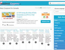 #73 para Design a Logo for Canadian Coupons por chrissieroberts