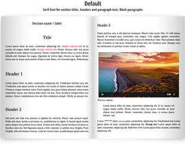 nº 13 pour Design two small ebooks with all pages included within health and food industry par rebonmalik