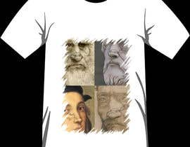 #12 for Set with 4 (four) T-Shirts design inspired by the Renaissance art works. by suwantoes